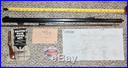 1977 Vintage Thompson Center Hawken 29 x 15/16 barrel, 45 caliber, spade stamp