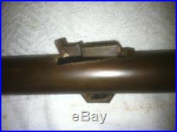 Barrel Thompson Center New Englander 50 Caliber Round barrel Rare browned