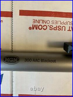 Encore MGM Rifle Barrel, 300 Blackout, Stainless Steel, 16.25