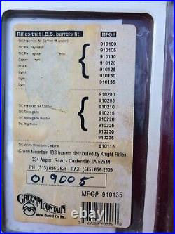 Green Mountain Stainless Steel drop in barrel for Thompson Center Cougar Nos