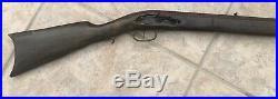 Jukar Kentucky Flintlock Rifle Stock Barrel, ramrod Thompson Center Hawken