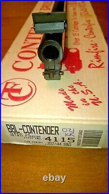 Rare Tc Thompson Center Contender 14 Blued Tca Barrel Original Box, 357/44 B&d