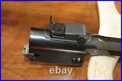 Stone Cold MINT Thompson Center Contender 10 22 LR Pistol Octagon Barrel TC