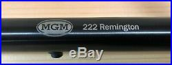 T/C Contender Barrel by MGM (Caliber. 222 Rem Length 20 Twist Rate 1-12)