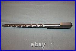 TC Encore 22 Hornet 16 stainless steel spiral-fluted barrel threaded 1/2 x 28