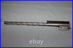 TC Encore. 380 ACP 380 Auto 16 MGM stainless steel spiral fluted barrel with rail