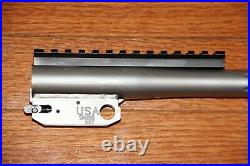 TC Encore 44 Magnum 16 stainless steel fluted barrel with integral muzzle brake