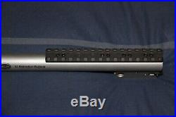 TC Encore 44 Magnum 17.5 stainless steel bull barrel with muzzle brake, 6 rail