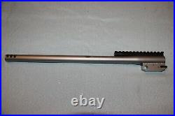 TC Encore 44 Magnum 17.5 stainless steel ported barrel with integral muzzle brake