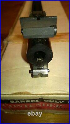 TC THOMPSON CENTER CONTENDER 14 BLUED BULL BARREL 6.5mm TCU IN ORIGINAL BOX