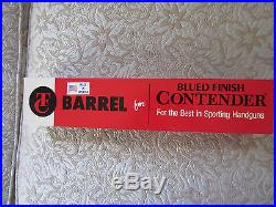 Thompson Center Arms Contender Octagon12 Barrell Blued Finish 25/20 Winchester