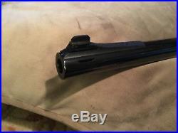 Thompson/Center Arms Contender Super 14 Barrel. 444 Schafer Magnum Caliber LOOK