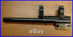 Thompson Center CONTENDER 22 WMR tc 10 BARREL mount Winchester Magnum BULL