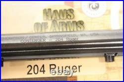 Thompson Center Contender 14 Pistol Barrel Blue 204 Rug w Sights 06144418-NEW