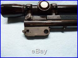 Thompson Center Contender. 30 Herrett super 14 barrel, scope, mount, rings, dies