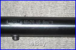 Thompson Center Contender 45-70 Rifle Barrel 1-14 Twist By Match Grade Machine