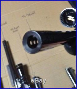 Thompson Center Contender 9 Barrel/sites/scopes together withcase