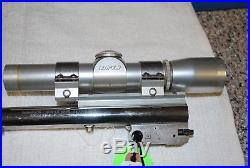 Thompson Center Contender Barrel 22LR Match Super 14 Stainless 14 With Leupold M8