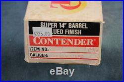 Thompson Center Contender Barrel 7X30 Waters Super 14