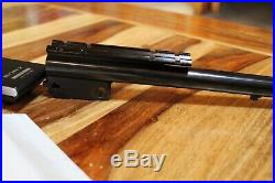 Thompson Center Contender Rifle Barrel 21 With Weaver Base 223 Remington