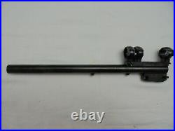 Thompson Center Contender Super 14 30-30 Win Barrel with Redfield base and rings