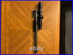 Thompson Center Contender barrel 35 Rem Super 14 withLeupold M8 2X scope NICE