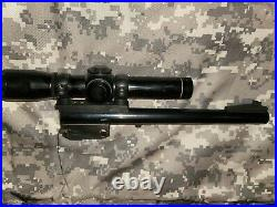 Thompson Center Contender barrel 357 Rem Max With Leupold Scope