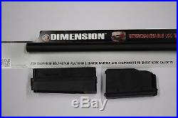 Thompson Center Dimension TC8113 7mm-08 Rem Interchangeable LOC Barrel 22-NEW