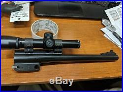Thompson Center Encore 12 44 Mag. Barrel w Simmons Pro Hunter 2x20 scope blue