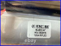Thompson Center Encore BLUE 12 Gauge 24 Shotgun Barrel 07244239 -NEW