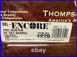 Thompson Center Encore Barrel 280 Rem, 28, SST Fluted, Rochester Pro Hunter