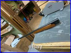 Thompson Center Encore Blue 25-06 Rem 26 Barrel with wood rifle fore end