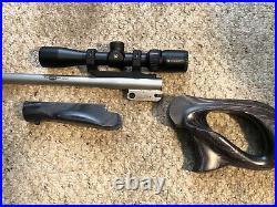 Thompson Center Encore MGM 454 Casull 15 Pistol Barrel Scope And Grips