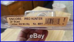 Thompson Center Encore Pro Hunter 300 Win Mag 28 Fluted Blued Barrel Part #4891