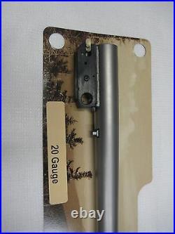 Thompson Center Encore Prohunter SS 20 Gauge Shotgun Barrel 07284822 -NEW