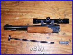 Thompson Center Encore pistol barrel 209x50 muzzleloader with TC scope