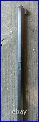 Thompson Center Hawken 50cal Barrel Bright 99% Bore, 95% Outer Bluing Little Use