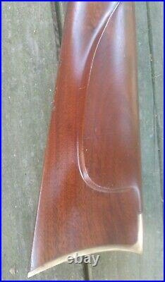 Thompson Center Hawken Stock Later Version 15/16 Barrel Very Nice Clean! #2-43