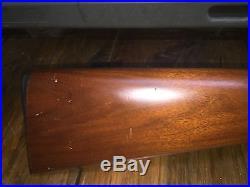Thompson Center New Englander Walnut Stock 4 Rnd barrel great condition