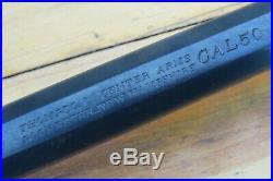 Thompson Center T/C HAWKEN Barrel 50 Caliber Flintlock PRE Warning Older barrel