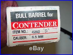 Thompson Center TC Contender 6.5 TCU 10 Bull Barrel