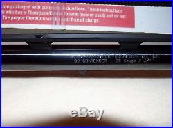 Thompson Center TC Contender G2 Custom Shop NIB 28 GA. Shotgun Barrel RARE
