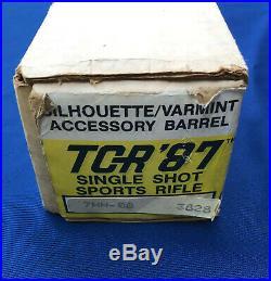 Thompson Center TCR 87 (83) 7mm-08 barrel New in Box