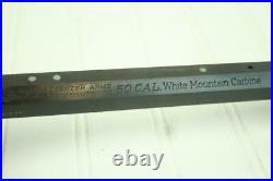 Thompson Center White Mt Carbine 21 1/2 50 Cal Barrel Good Bore