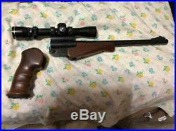 Thompson Center encore 243 barrel scope grip & forend withholster (not pictured)