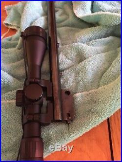 Thompson Contender 16 45-70 barrel + Cabrlas 45-70 scope (3-9x40 optic)