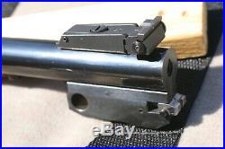 Thompson Contender Bull Barrel 10 inch 22 rimfire excellent condition