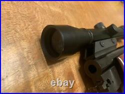 Thompson Contender G1-G2 Blued 7mm TCU 10 bull Barrel 3X LOBO SCOPE FOREARM